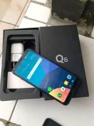LG Q6 32 gb tv digital 3 de ram novinho tem reconhecimento fácil celular novo