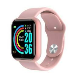 Smartwatch Y68 Relógio Bluetooth Monitor Fitness