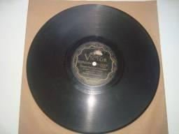 Disco 78 rpm, RCA Victor, 10 polegadas, Hino Nacional, Hymno N Brazileiro