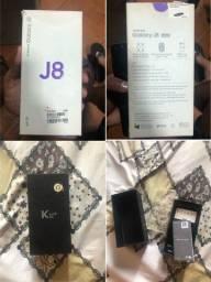 Troco em iphone j8 + lg k12+