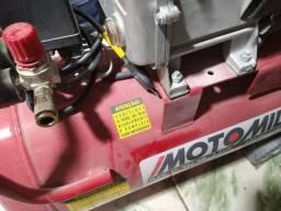 KIT Compressor De Ar 10 Pés 50l 2,5cv Mam-10/50br Motomil