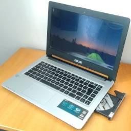 Notebook ASUS [ i7-6GB Ram- SSD 240GB ] Parcelo em 6x sem juros!