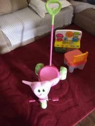 Tres brinquedos