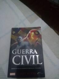 LIVRO GUERRA CIVIL MARVEL