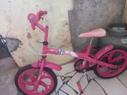 Bicicleta barbie infantil