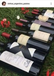 Vinhos argentinos da escolha do cliente
