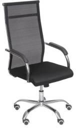 Cadeira Office Verona Presidente Preta