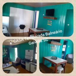 Casa para Temporada Balneário Gaivota SC