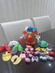 Maleta Boneco Sr Cabeça De Batata Toy Story Hasbro Maleta Original<br><br>