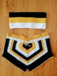 Conjuntos de crochê