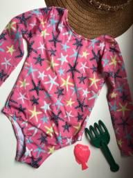 Maiô infantil com proteção UV