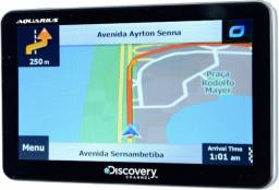 "GPS Automotivo 7.0"" Aquarius Discovery Channel"