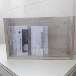 Porta Documentos e Boletos.