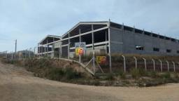 Galpão area industrial