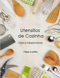 V> kit utensílio para cozinha