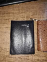 Carteira e porta cartão
