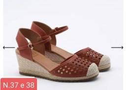 Promoçao relâmpago de calçados