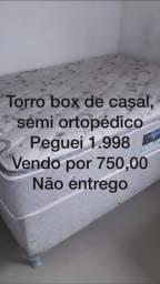 Box de casal semi ortopédico