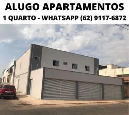 Título do anúncio: Apartamento 1 Quarto Aluguel (Novo e Bonito) Prox Hugol e Portal Shop