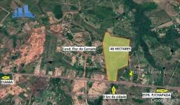 Título do anúncio: Terreno na beira da rodovia Cuiabá Chapada parte da pista dupla