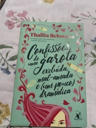 Livro confissões de uma garota excluída mal Amanda e bem pouco dramática.