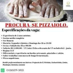 Vaga para pizzaiolo Zona Norte