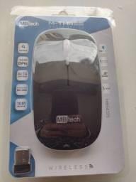 Mouse wireless recarregável