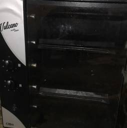 Churrasqueira elétrica vulcano a gás usada