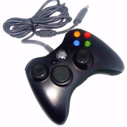 Controle Para Xbox 360 E Pc Com Fio Joystick