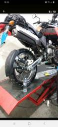 Paralama traseiro anti spray moto
