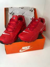 Nike shox Nz - vermelho 43