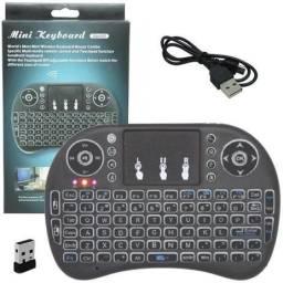 controle para tv box smarttv, computador mini teclado