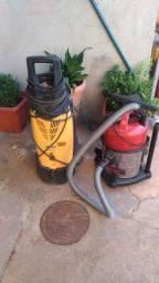 Lavadora de alta pressão e aspirador