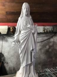 Estatua sagrado coração de Jesus