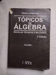 Livro tópicos de álgebra