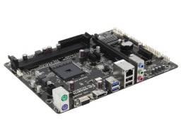 Kit Amd Ddr3 / Placa mae Gigabyte + Processador AMD Athlon 5150 Quad-Core 1.6Ghz