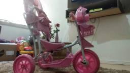 Triciclo Gangorra Belfix Cachorro Rosa