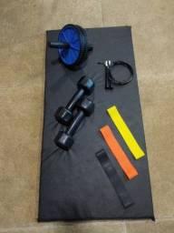 Equipamentos para treino em casa