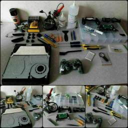 Assistência técnica especializada em controles e consoles