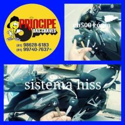 chaves de Honda codificadas cb500 nc700 cb1000 etc