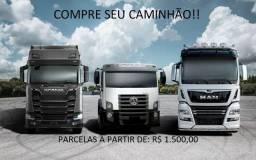 Caminhão Baú no Parcelamento!!