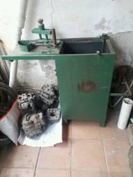 Máquina cortar e fritar batata