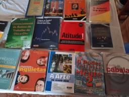 Vários livros 5,00 cada ou tudo por 50,00