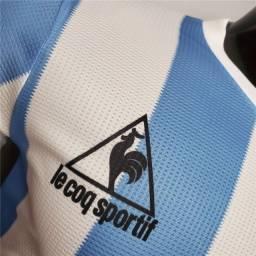 Camisa seleção argentina 1986 versão de Jogador