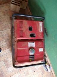 Gerador à Diesel 3,3Kva 110/220V BD 4000E Partida Elétrica - BRANCO- *