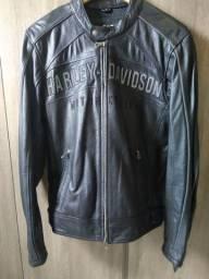 Jaqueta Moto de couro Harley Davison original tamanho s