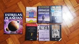 Livros de Astronomia/ Ciência (Preços variados)