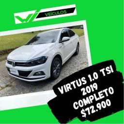Virtus 1.0 TSI 2019 Completo