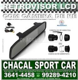 Título do anúncio: Kit Retrovisor interno com tela Lcd e Câmera externa de Ré.
