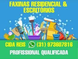 Faxinas residencial e escritórios